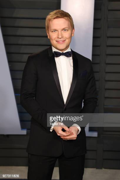 Ronan Farrow attends the 2018 Vanity Fair Oscar Party hosted by Radhika Jones at Wallis Annenberg Center for the Performing Arts on March 4 2018 in...