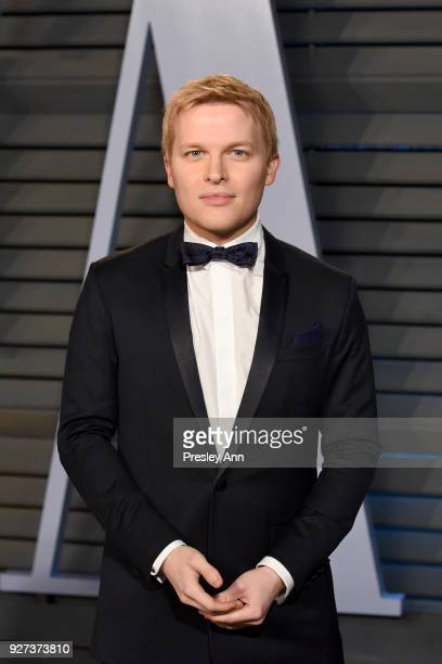 Ronan Farrow attends the 2018 Vanity Fair Oscar Party Hosted By Radhika Jones Arrivals at Wallis Annenberg Center for the Performing Arts on March 4...