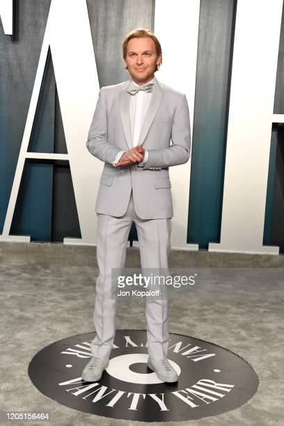 Ronan Farrow attends the 2020 Vanity Fair Oscar Party hosted by Radhika Jones at Wallis Annenberg Center for the Performing Arts on February 09 2020...