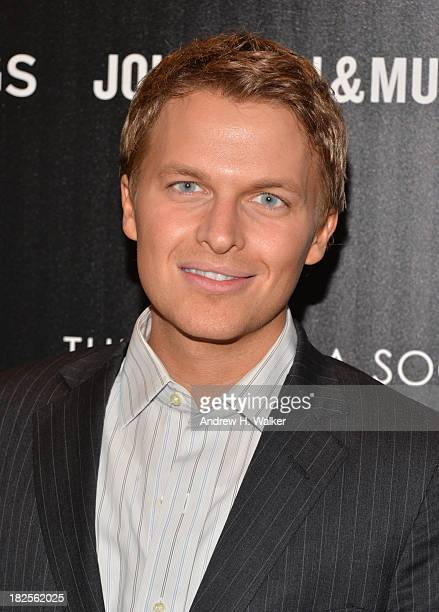 Ronan Farrow attends The Cinema Society and Johnston Murphy screening of Sony Pictures Classics' Kill Your Darlings at Paris Theater on September 30...