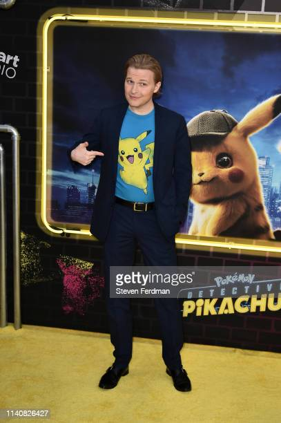 Ronan Farrow attends the premiere of Pokemon Detective Pikachu at Military Island in Times Square on May 2 2019 in New York City