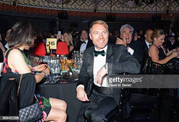 Ronan Keating and Jim Carter attend The Old Vic Bicentenary Ball to celebrate the theatre's 200th birthday at The Old Vic Theatre on May 13 2018 in...