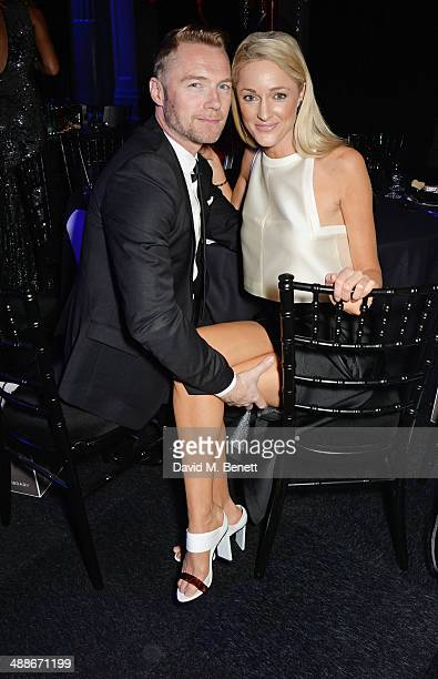 Ronan Keating and Storm Keating attend as Gabrielle's Angel Foundation for Cancer Research UK hosts its third annual 'Gabrielle's Gala' fundraiser at...