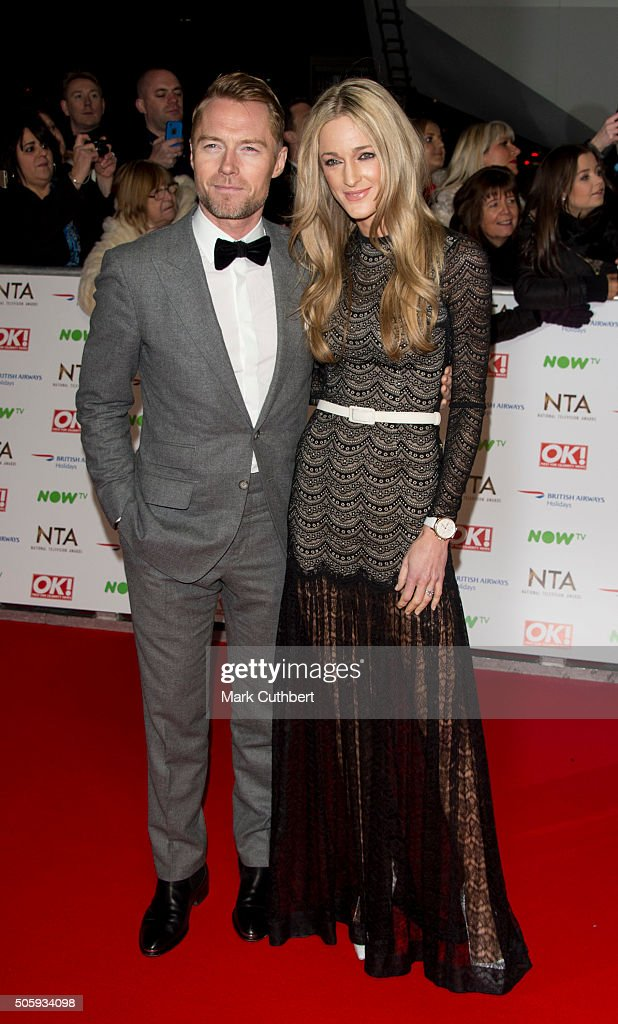 Ronan Keating and Storm Keating attend the 21st National Television Awards at The O2 Arena on January 20, 2016 in London, England.