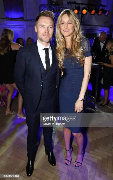 Ronan Keating and Storm Keating attend the 50th anniversary of The Beatles SGT Pepper Album at Abbey Road Studios for End The Silence and HopeHomes...