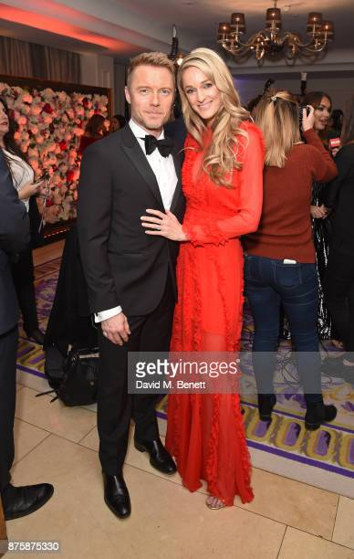 Ronan Keating and Storm Keating attend the 8th Global Gift Gala London in aid of Great Ormond Street Hospital Children's Charity at Corinthia Hotel...