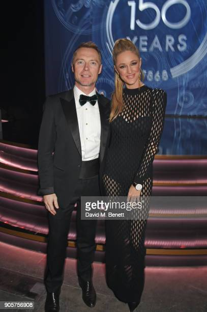 Ronan Keating and Storm Keating attend the IWC Schaffhausen Gala celebrating the Maison's 150th anniversary and the launch of its Jubilee Collection...