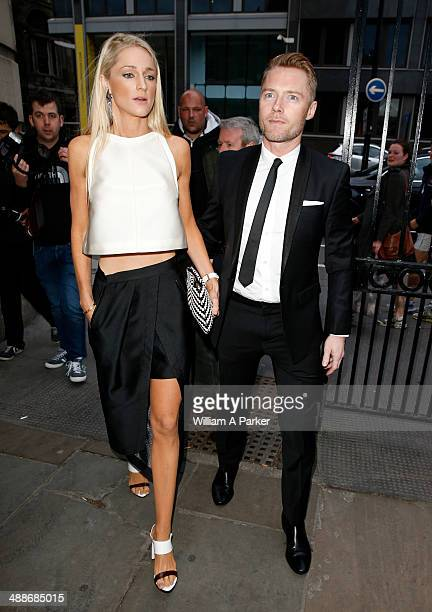 Ronan Keating and Storm Keating attending Gabrielle's Angel Foundation For Cancer Research Hosts Third on May 7 2014 in London England