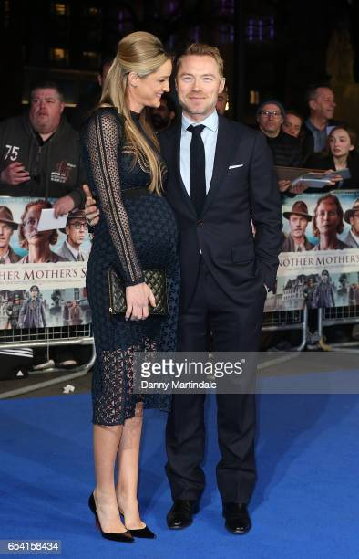 Ronan Keating and Storm Keating attends the World Premiere of 'Another Mother's Son' on March 16 2017 in London England