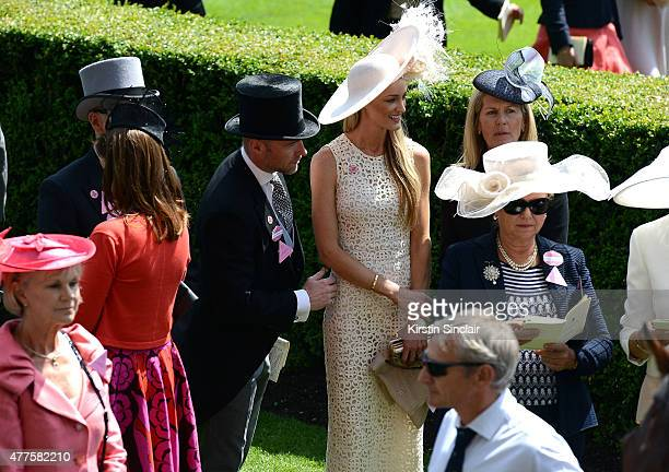 Ronan Keating and Storm Keating on day 3 during Royal Ascot 2015 at Ascot racecourse on June 18 2015 in Ascot England