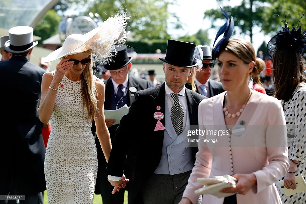 Ronan Keating and Storm Keating on day 3 during Royal Ascot 2015 at Ascot racecourse on June 18, 2015 in Ascot, England.