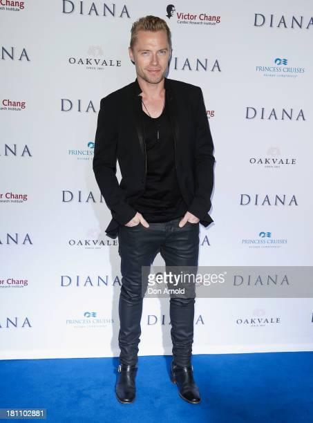 Ronan Keating arrives at the Australian premiere of 'Diana' at Event Cinemas George Street on September 19 2013 in Sydney Australia