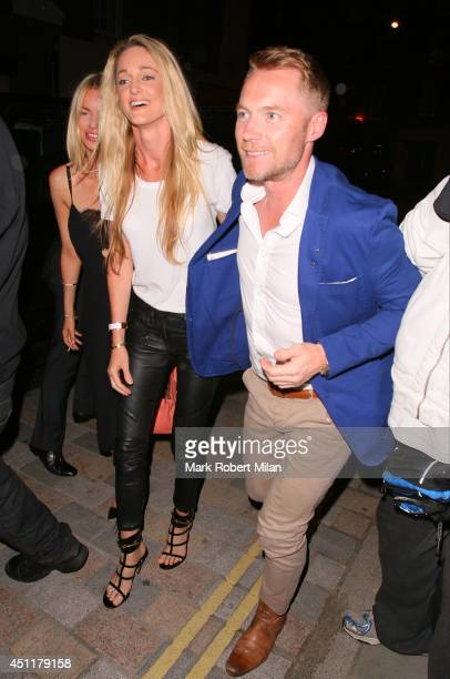 Ronan Keating at the Chiltern Firehouse on June 24 2014 in London England
