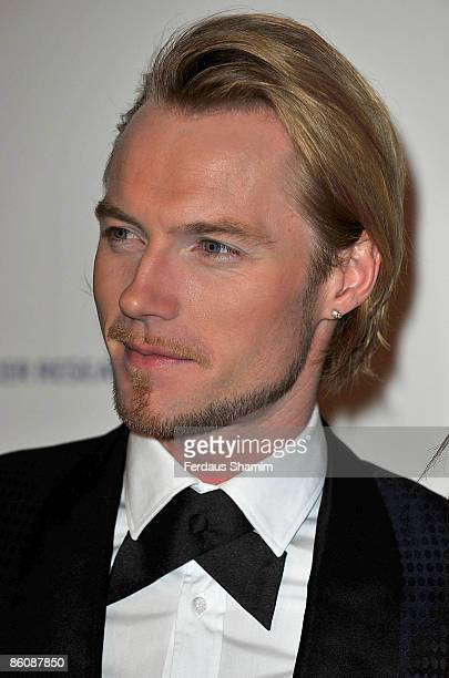 Ronan Keating attend Emeralds Ivy Ball for Cancer Research UK at Battersea Park on November 21 2008 in London England