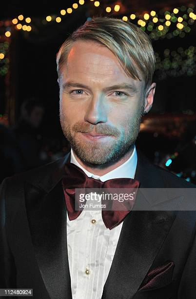Ronan Keating attends his fourth annual Emeralds and Ivy Ball in aid of Cancer Research UK at Battersea Evolution on November 21 2009 in London...
