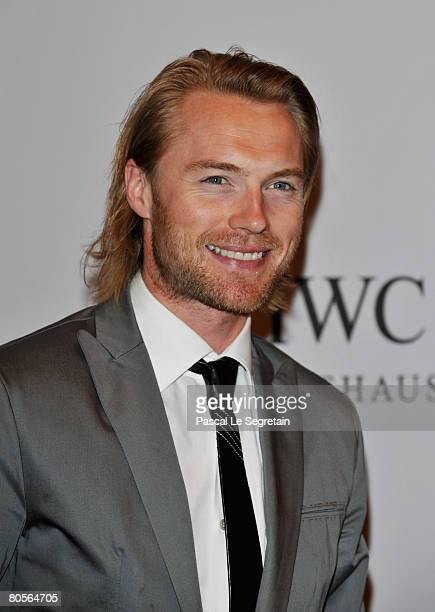 Ronan Keating attends 'The Crossing' gala event hosted by IWC Schaffhausen held at the Geneva Palaexpo on April 8 2008 in Geneva Switzerland