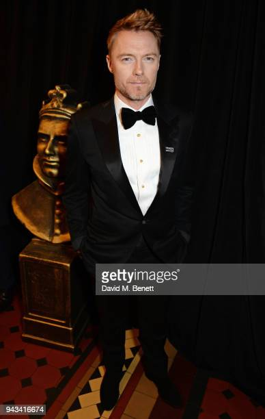 Ronan Keating attends The Olivier Awards with Mastercard at Royal Albert Hall on April 8 2018 in London England