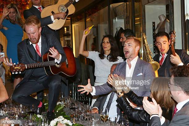 Ronan Keating attends the summer dinner hosted by Harrys of London and Mr Porter at Burlington Arcade on July 8 2015 in London England