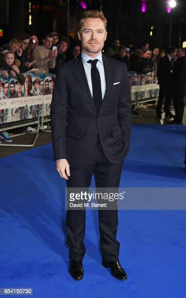 Ronan Keating attends the World Premiere of 'Another Mother's Son' on March 16 2017 in London England