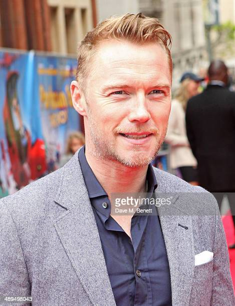 Ronan Keating attends the World Premiere of 'Postman Pat' at Odeon West End on May 11 2014 in London England