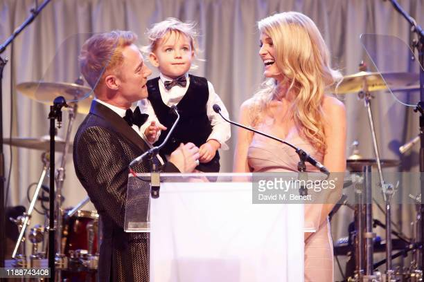 Ronan Keating Cooper Keating and Storm Keating attend the 13th annual Emeralds Ivy Ball in partnership with Cancer Research UK and The Marie Keating...