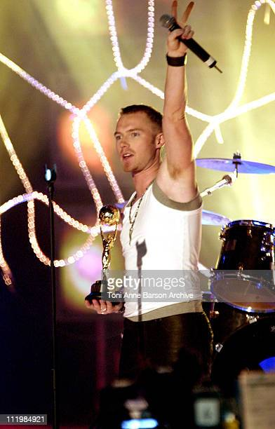 Ronan Keating during 2003 Monte Carlo World Music Awards Show at Monte Carlo Sporting Club in Monte Carlo Monaco
