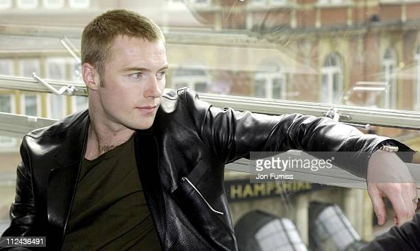Ronan Keating during Ronan Keating Visits Capital Radio For Help A London Child at Leicester Square in London Great Britain
