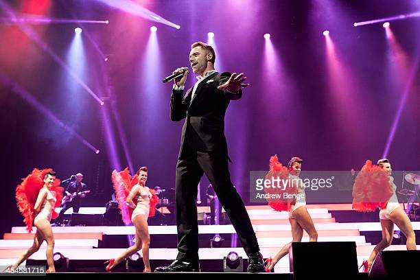 Ronan Keating of Boyzone performs on stage at First Direct Arena on December 9, 2013 in Leeds, United Kingdom.