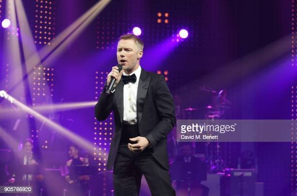 Ronan Keating performs at the IWC Schaffhausen Gala celebrating the Maison's 150th anniversary and the launch of its Jubilee Collection at the Salon...