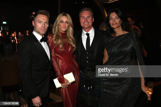 Ronan Keating Storm Keating David Coulthard and Karen Minier attend the IWC Schaffhausen Gala celebrating the launch of the new Pilot's Watches at...