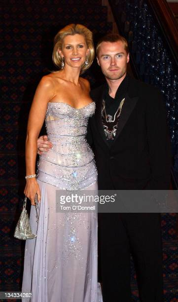 Ronan Keating wife Yvonne during Miss Ireland Finals 2004 in City West at City West Hotel in Dublin Ireland