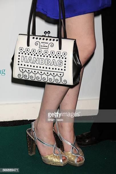 Ronan Keating'S 'Emerald And Ivy Ball' Battersea Evolution London Britain 21 Nov 2008 Sophie EllisBextor'S Handbag And Shoes