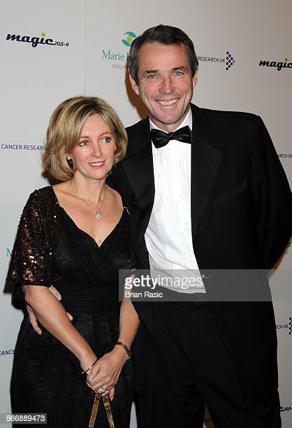 Ronan Keating'S 'Emerald And Ivy Ball' Battersea Evolution London Britain 21 Nov 2008 Alan Hansen And Wife Janet