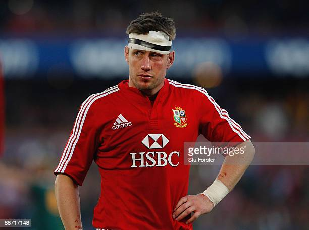 Ronan O'Gara of the Lions looks dejected at the end of the Second Test match between South Africa and the British and Irish Lions at Loftus Versfeld...