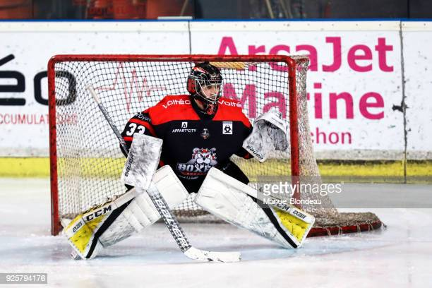 Ronan Quenemer of Bordeaux during the Magnus League Playoff match between Bordeaux and Gap on February 28 2018 in Bordeaux France