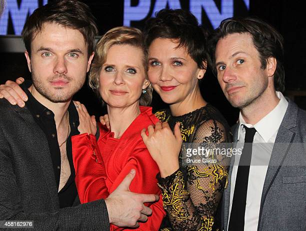 Ronan Raftery Cynthia Nixon Maggie Gyllenhaal and Josh Hamilton at The Opening Night After Party for The Real Thing on Broadway at The Liberty...