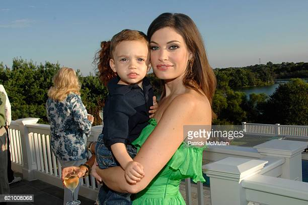 Ronan Villency and Kimberly Guilfoyle Villency attend A Taste of the Good Life with BEST LIFE Sunset Cocktail Party at Private Residence on August 16...