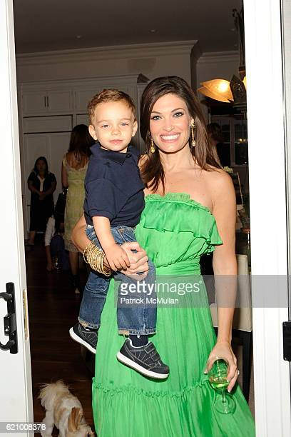 Ronan Villency and Kimberly Guilfoyle Villency attend A Taste of the Good Life with BEST LIFE Sunset Cocktail Party at The Villency Residence on...