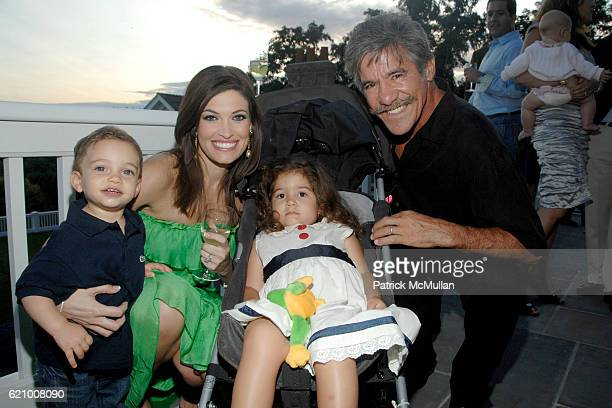 Ronan Villency Kimberly Guilfoyle Villency Sol Rivera and Geraldo Rivera attend A Taste of the Good Life with BEST LIFE Sunset Cocktail Party at...