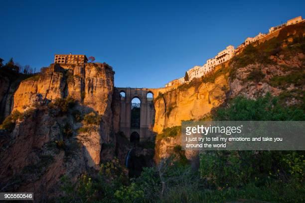 Ronda, Malaga province, Andalusia, Spain - Puente Nuevo (New Bridge)