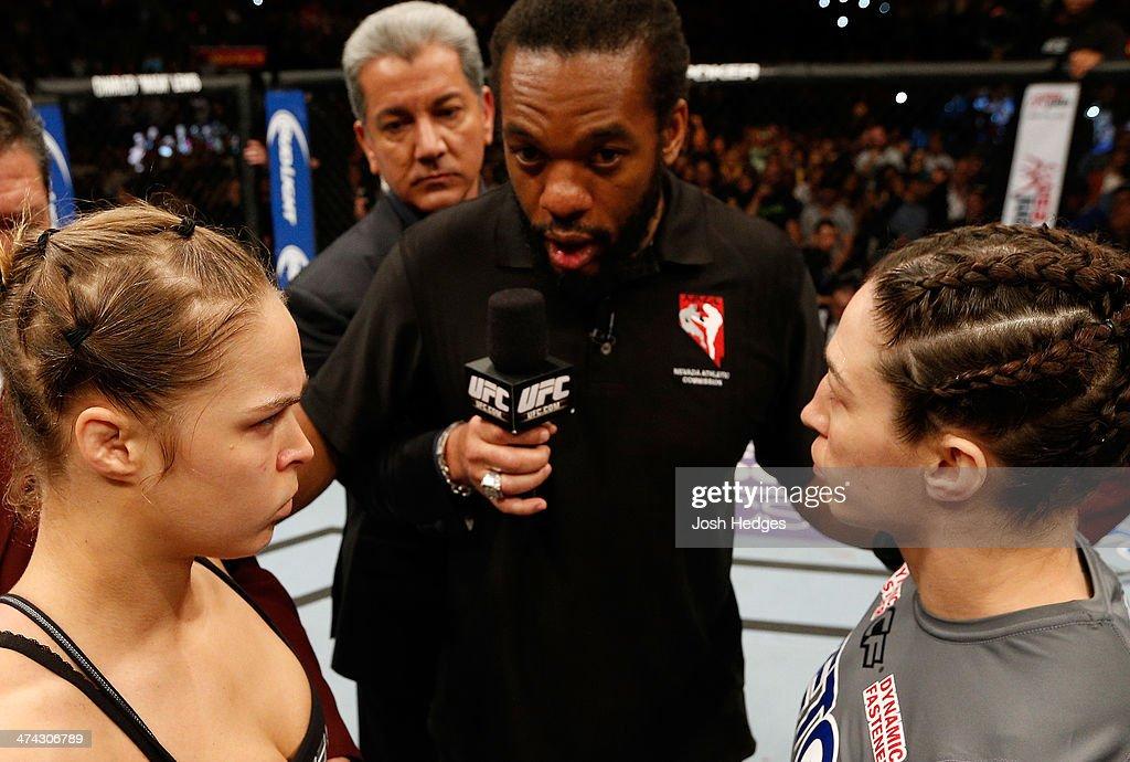 UFC 170: Rousey v McMann : News Photo