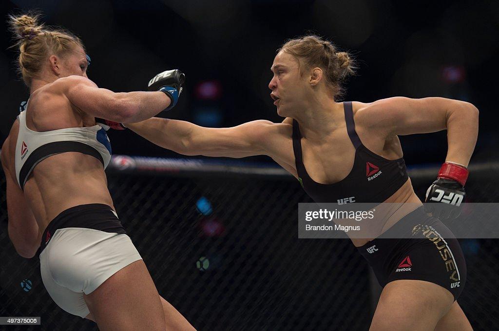 UFC 193: Rousey v Holm : ニュース写真