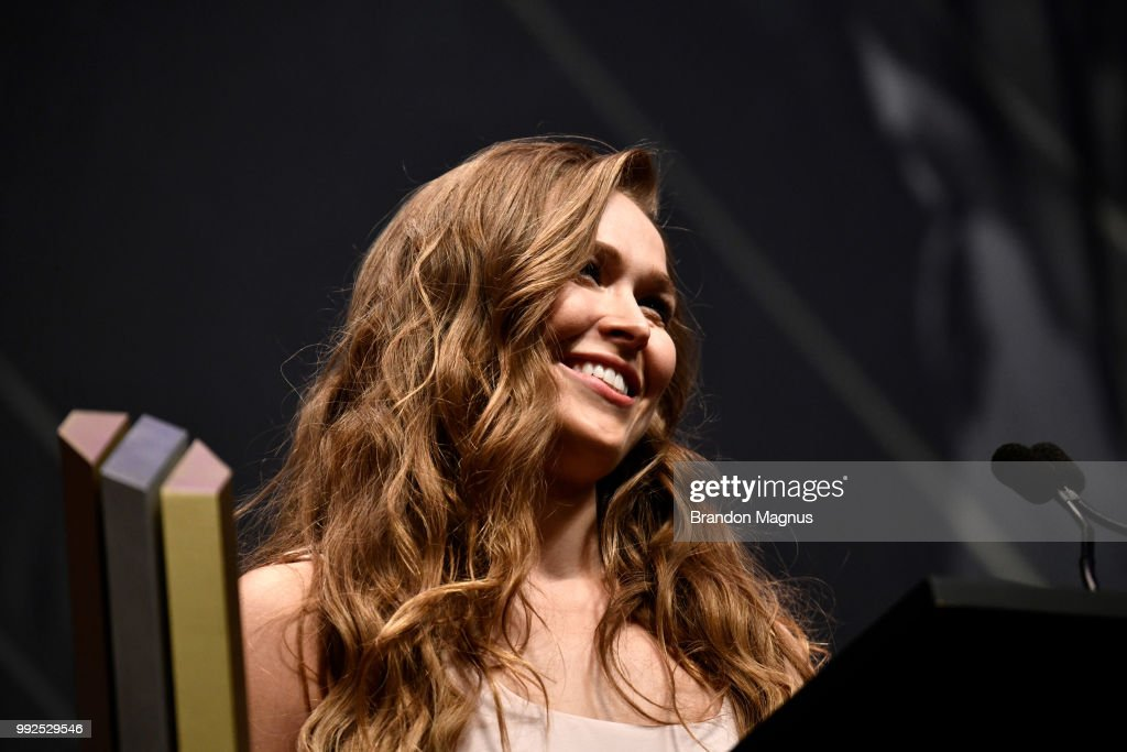 UFC Hall of Fame: Official Class of 2018 Induction Ceremony : News Photo