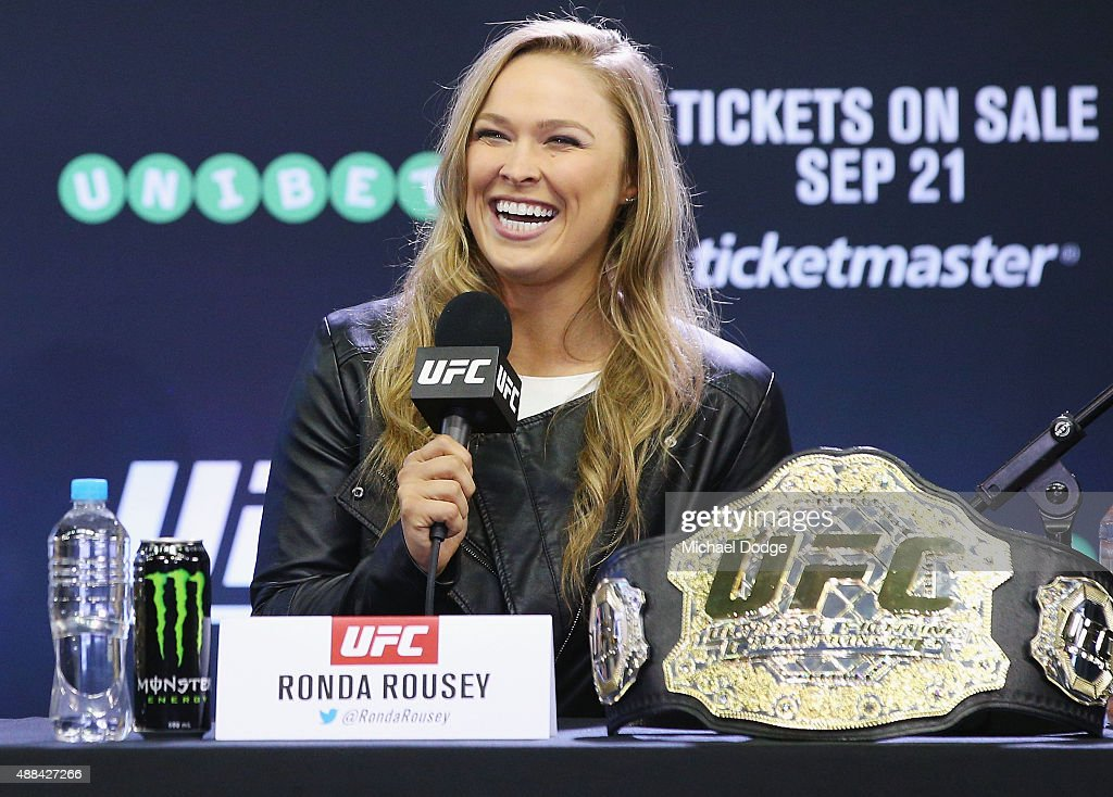 UFC 193 On-Sale Event : News Photo