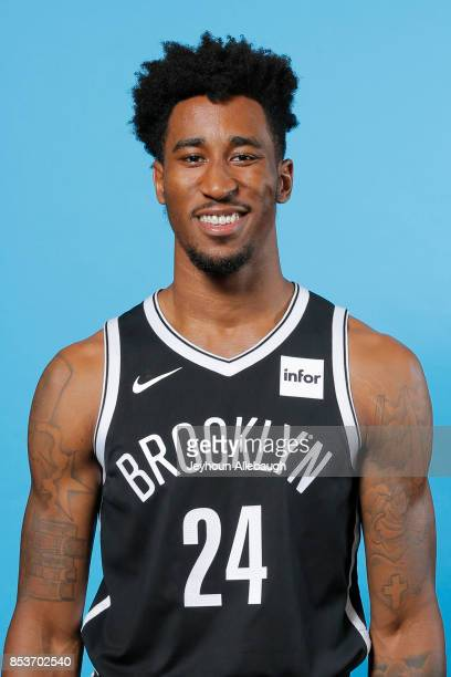 Rondae HollisJefferson of the Brooklyn Nets poses for a head shot during Media Day on September 25 2017 at the HSS Training Center in Brooklyn New...