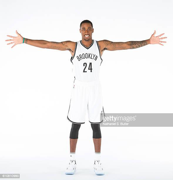 Rondae HollisJefferson of the Brooklyn Nets poses for a portrait during the 20162017 Brooklyn Nets Media Day at the Hospital for Special Surgery...