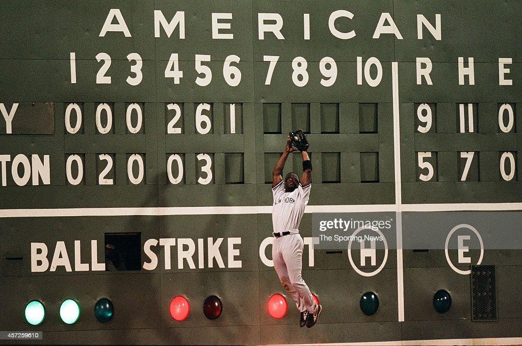 New York Yankees vs. Boston Red Sox : News Photo