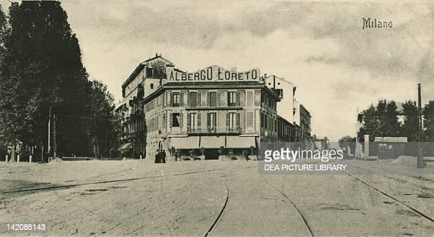 Rondo' Loreto in Milan Italy 20th Century