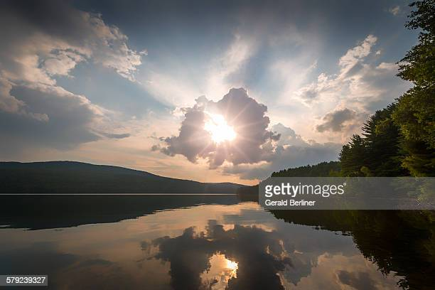 Rondout Reservoir Sunset