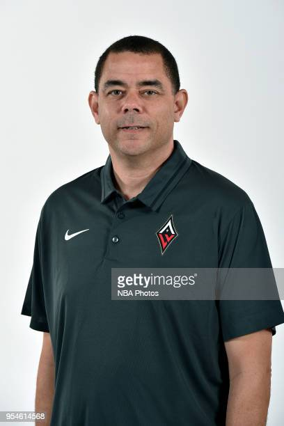 Rondre Jackson of the Las Vegas Aces poses for a head shot at WNBA Media Day at MGM Grand Garden Arena on May 3 2018 in Las Vegas Nevada NOTE TO USER...